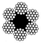 Канат сталевий ДСТУ 2688-80