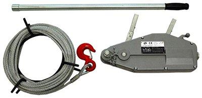 Монтажно-тяговий механізм з алюмінієвим корпусом
