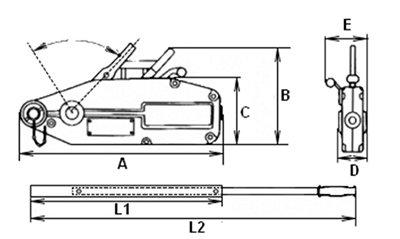 Монтажно-тяговий механізм