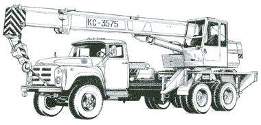 Кран автомобільний КС-3575А