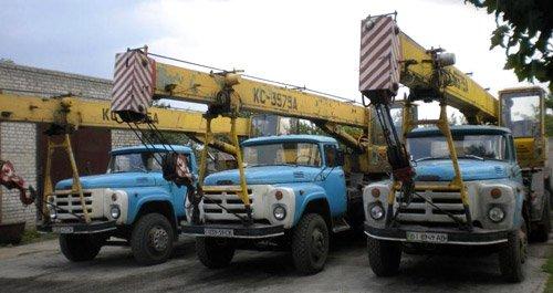 10. Описание Кран автомобильный КС-3575А грузоподъемностью 10 тонн с гидравлическим приводом, смонтирован на шасси...